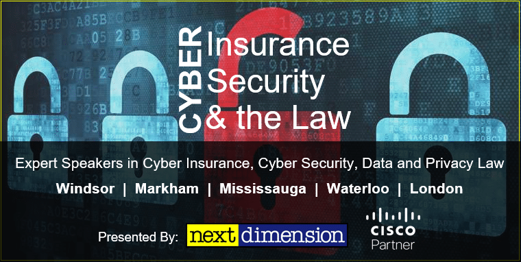 Cyber insurance Security & The Law