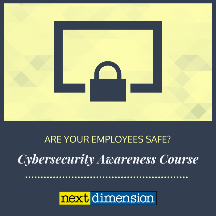 cybersecurity awareness course image