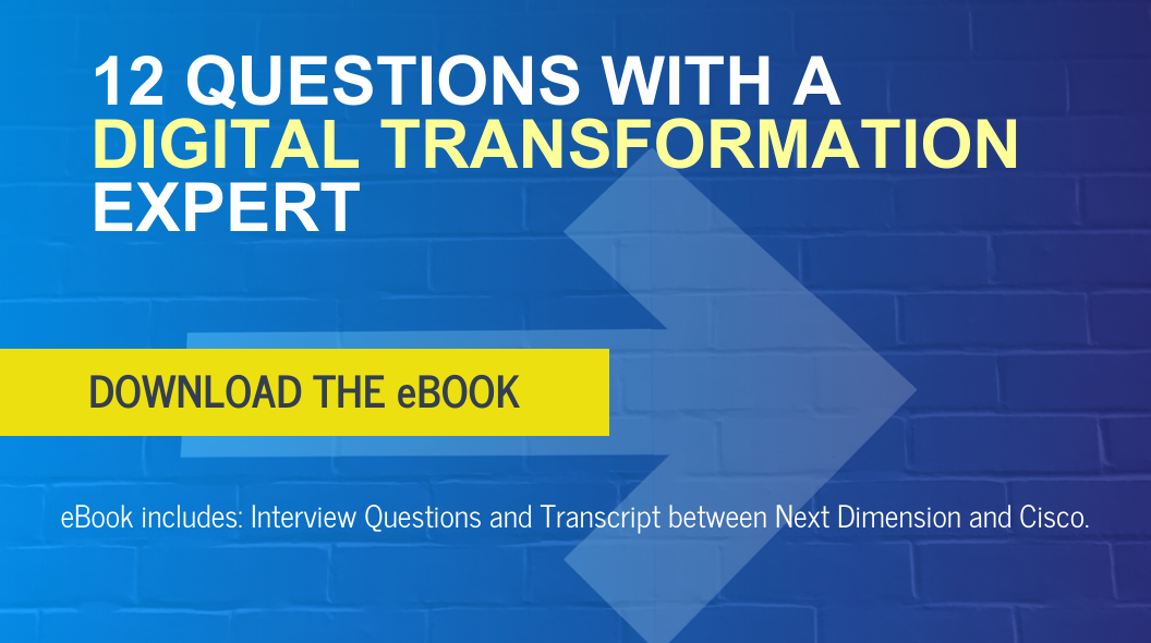 12 questions with a digital transformation expert