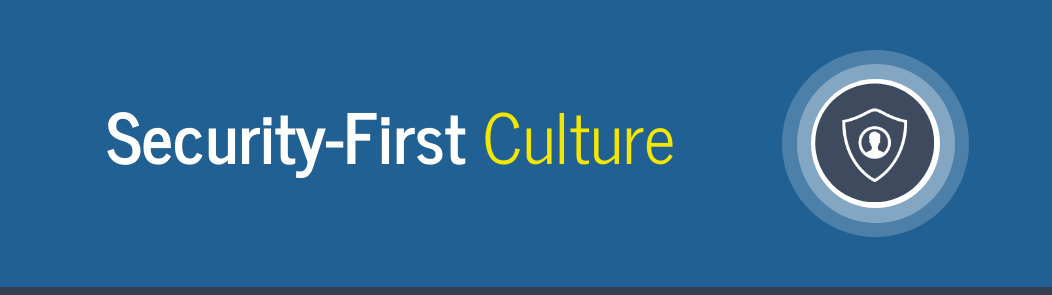 security first culture